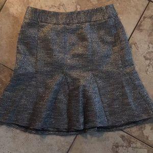 Cute flare grey skirt Banana Republic size 2